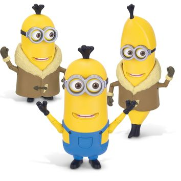 The Minions Deluxe Action Figure [Build-A-Minion - Arctic Kevin/Banana]