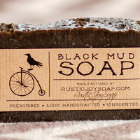 Activated Charcoa&Black Mud Soap- All Natural Soap,Handmade Soap,Acne Soap, Black Mud,Activated Charcoa Soap,anti-cellulite soap