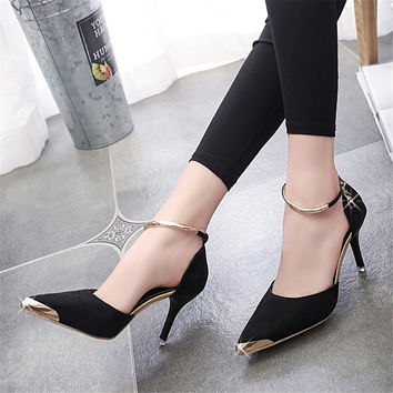 Sexy High Heels Pointed Toe--Handmade--