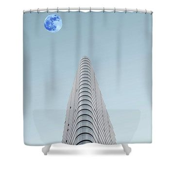 Urban Architecture - London, United Kingdom 6a - Shower Curtain