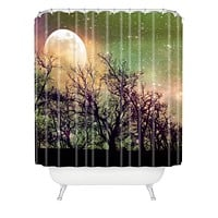 Shannon Clark Moon Magic Shower Curtain