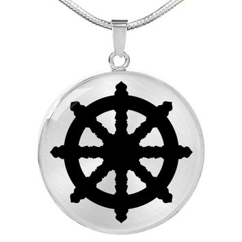 Dharma Wheel - Luxury Necklace