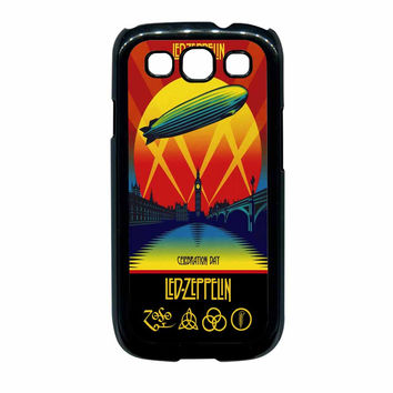 Led Zeppelin Poster Samsung Galaxy S3 Case