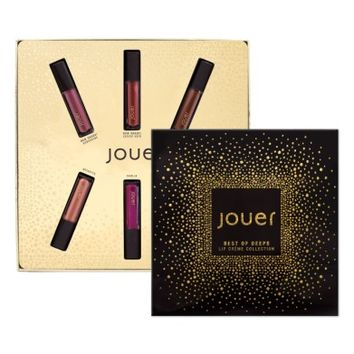 Jouer Best of Deeps Mini Long-Wear Lip Crème Liquid Lipstick Collection (Limited Edition) | Nordstrom