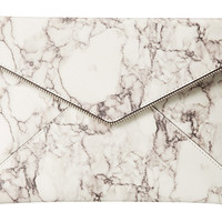 Rebecca Minkoff Leo Clutch Marble Print - Zappos.com Free Shipping BOTH Ways