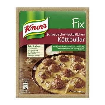 Knorr Fix for Swedish Meatballs, Koettbullar, from Germany, 1.7 oz.