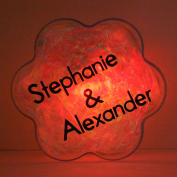 GlowFlower  -geek, unique, cool, gift for her, gift for him, anniversary, easter gift, personalized