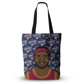 "Will Wild ""Lebron James"" Basketball Everything Tote Bag"