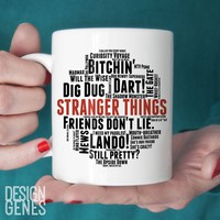 Stranger Things Season 2 quotes mug