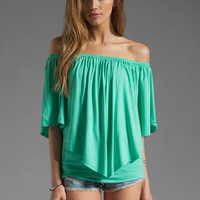 James & Joy Mina Convertible Top in Seafoam from REVOLVEclothing.com