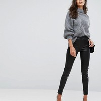 Y.A.S Leather Legging at asos.com