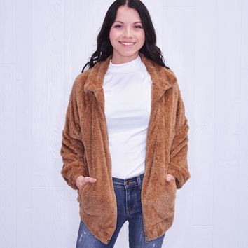 Totally Teddy- Zip Up Jacket