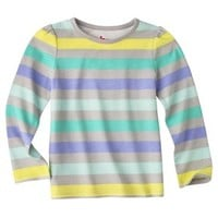 Circo® Infant Toddler Girls' Long-sleeve Stripe Tee