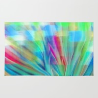 Growth 6 Rug by Jen Warmuth Art And Design