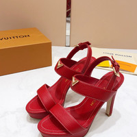 Louis Vuitton LV Fashion Leather Sandal