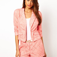 Lipsy Broderie Anglais Jacket