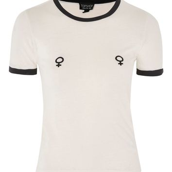 Female Symbol T-Shirt | Topshop