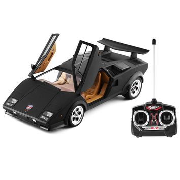 1/14 Scale Fashion Cool Children Automobile RC Toy for Lamborghini Wolf Countach LP500S Radio Remote Control Model Car
