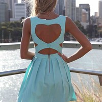 HEART CUT OUT 2.0 DRESS   , DRESSES,,Minis Australia, Queensland, Brisbane