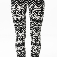 Ethnic Tribal Leggings Soft and Comfortable Yoga Fitness Workout Gym Pants Streetwear Women Clothing Fashion Accessories