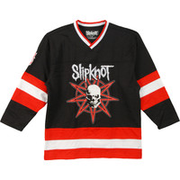 Slipknot Men's  Hockey Jersey Black