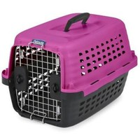 Petmate Compass Fashion Pet Kennel Carrier Pink Sz: X-Small 19""