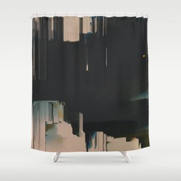 Neutrality Shower Curtain by Ducky B
