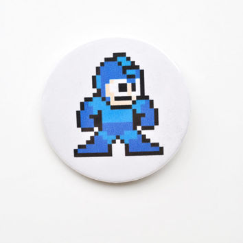 "Mega Man 2.25"" Button"