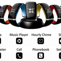 Lifestyle Smart Watch with OLED Display