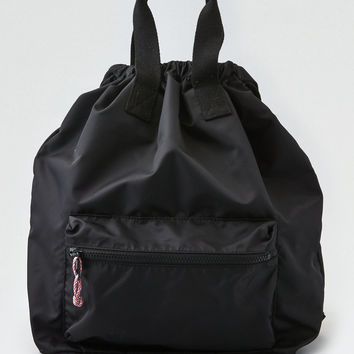 AEO Nylon Convertible Backpack, Black