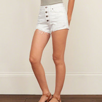 High Rise 2 Inch Denim Shorts