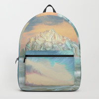 Frozen waves Backpack by exobiology