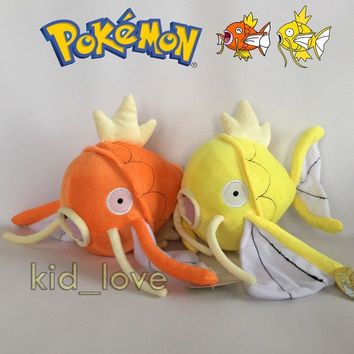 "s Shiny Magikarp & Magikarp Plush Soft Toy Stuffed Animal Doll 8""Kawaii Pokemon go  AT_89_9"