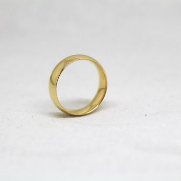 Free Engraving, gold Ring,promise ring,couple Rings, Lovers rings