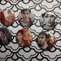 """1 1/4"""" Warm Bodies Set Of 6 Pinback Buttons"""
