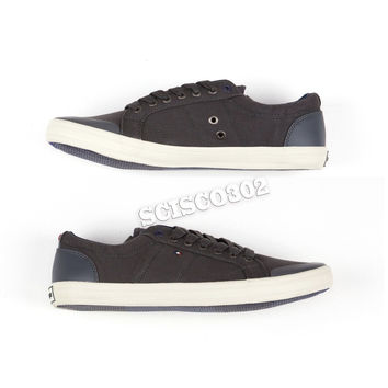 Tommy Hilfiger Sneakers Russell 2 Gray Lace Up Shoes