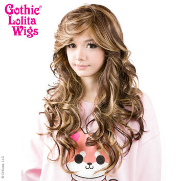 Gothic Lolita Wigs®  Duplicity™ Collection - Choco-Latte -00413