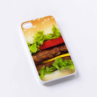 Hamburger iPhone 4/4S, 5/5S, 5C,6,6plus,and Samsung s3,s4,s5,s6