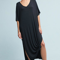 Oversized V-Neck Maxi Dress