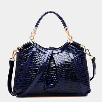 2016 New Vintage Alligator Women bag Lady Leather Cross Body messenger Shoulder Bags Handbags Women Famous Brands bolsa feminina