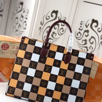 Kuyou Gb29810 Lv Louis Vuitton M44571 Onthego Monogram Book Tote Bag Business Bags Toron Top Hand 41.0 X 34.0 X 19.0 Cm