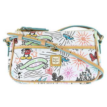 Disney Parks Disney Characters Sketch Pouchette Bag by Dooney & Bourke New with Tag