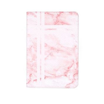 Red Granite Pattern Leather Business Passport Holder Protector Cover_SUPERTRAMPshop