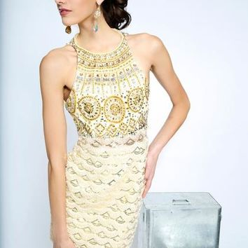2014 JVN by Jovani Fitted Homecoming Dress JVN20469
