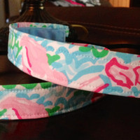 Lilly Pulitzer Inspired EmBands -  Non-Slip Headbands with Lilly Fabric