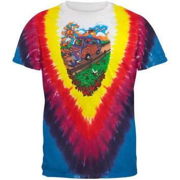 PEAPGQ9 Grateful Dead - Summer Tour Bus Youth T-Shirt