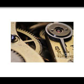 The Heart Of A Watch 2 Framed Print