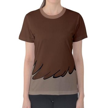 Women's Fifi Feather Duster Beauty and the Beast Inspired Shirt