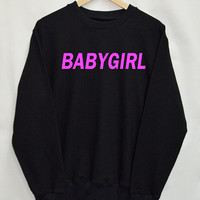 Baby Girl Clothes Shirt Sweatshirt Clothing Sweater Top Tumblr Fashion Funny Text Slogan Dope Jumper tee
