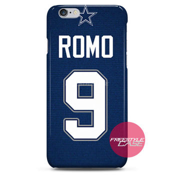 Tony Romo Cowboys Jersey iPhone Case 3, 4, 5, 6 Cover